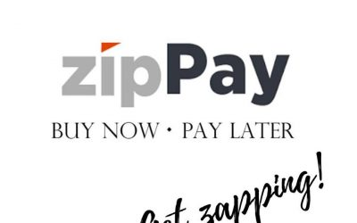 Now offering ZipPay!