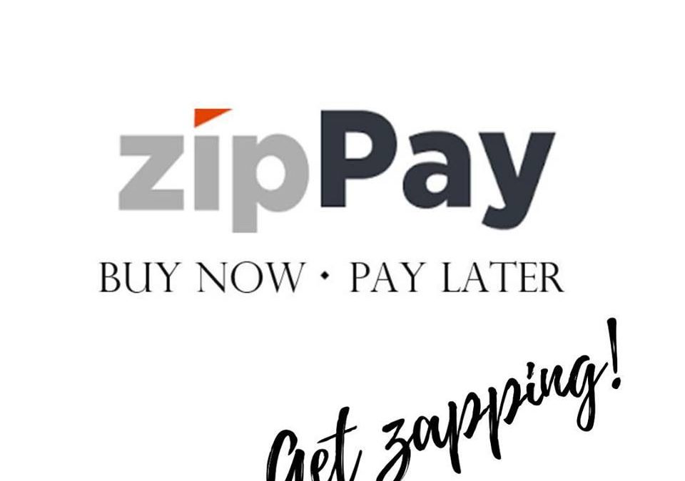 Now offering ZipPay